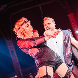 The Kit Kat Club, a weekly Cabaret Show