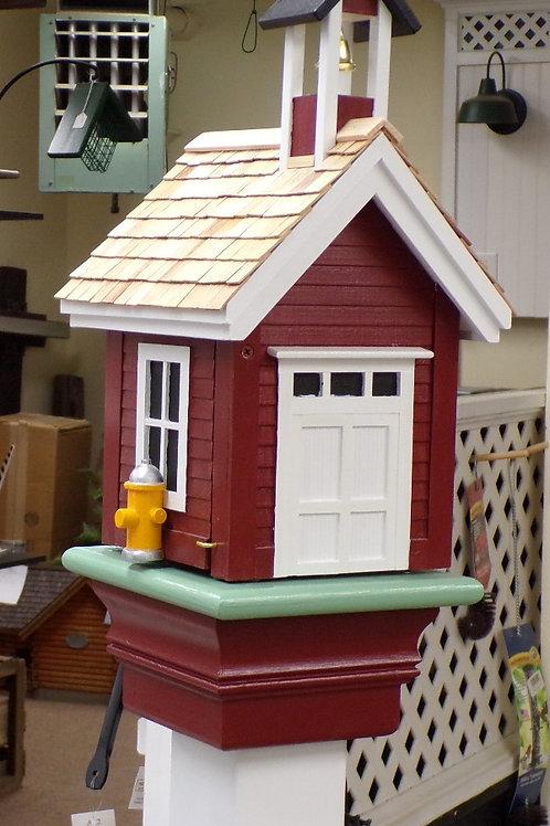 Firehouse Single Hole Birdhouse
