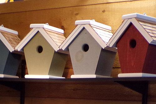 Hanging Cascade 1 Cluster Birdhouse