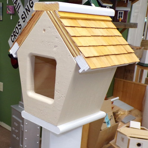 Custom Camera Insert Cascade Mock Birdhouse