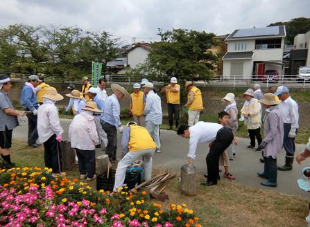2018.7.29 彼岸花植花イベント開催