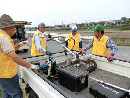 2018.6.10 6月例会 植花地の整備