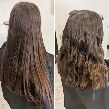 Haircuts Before and After