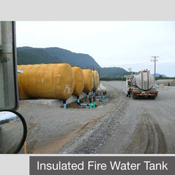 Insulated Fire Water Tank