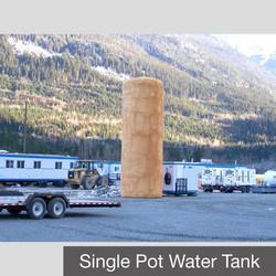 Single Potable Water Tank