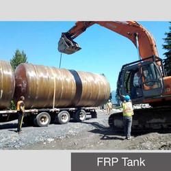 FRP Tank Horizontal