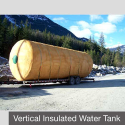 Vertical Insulated Water Tank