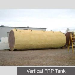 Vertical Insulated FRP Tank