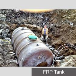 FRP Tank Install