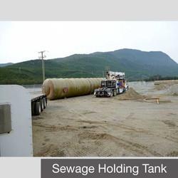 FRP Sewage Holding Tank