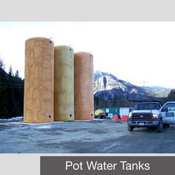 Potable Water Tanks ( Vertical )