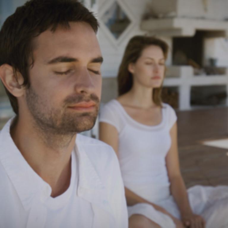 Групповая медитация.