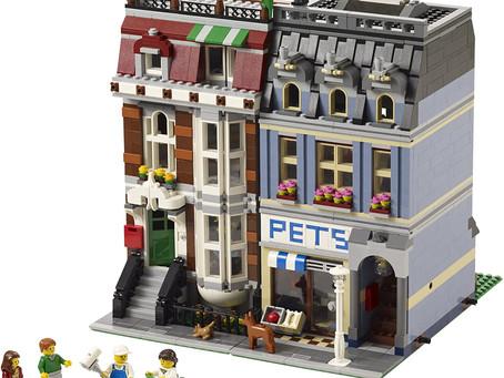 "Modern Toys Review : LEGO ""Creator Pet Shop"""