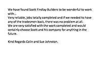 Colin and Sue's Testimonial