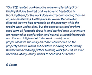 G Coutts' Testimonial
