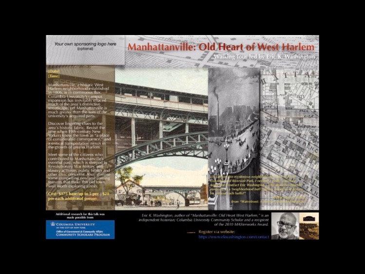 Manhattanville: Old Heart of West Harlem