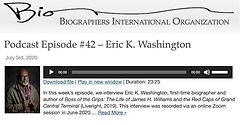 BIO Podcast Episode #42 - Eric K. Washin