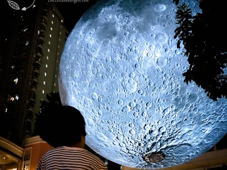 7米巨型月亮登陸利東街