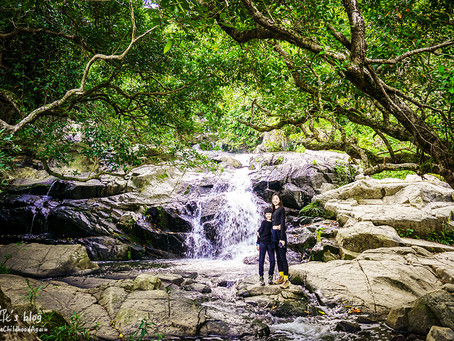 超輕鬆遊「蓮苑台瀑布」和「小夏威夷徑瀑布」