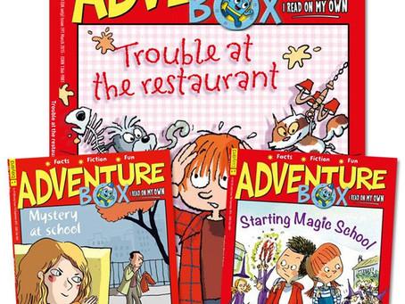 親子送禮:《Adventure Box》兒童月刊