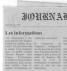 Newspaper Renoult Damien