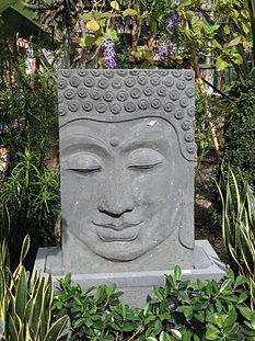Fountain Wall Buddha Face Small