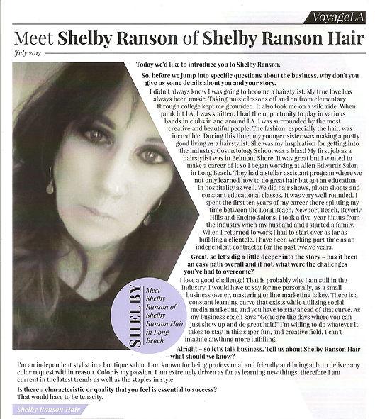 Shelby Ranson Hair Voyage LA Magazine.jp