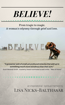"""Believe!"" Book Cover"