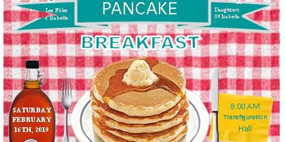 Pancake Breakfast & Pancake Eating Contest