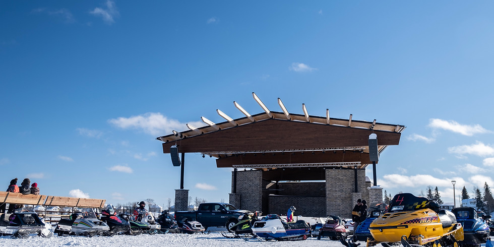 Snowmobile Drag Races