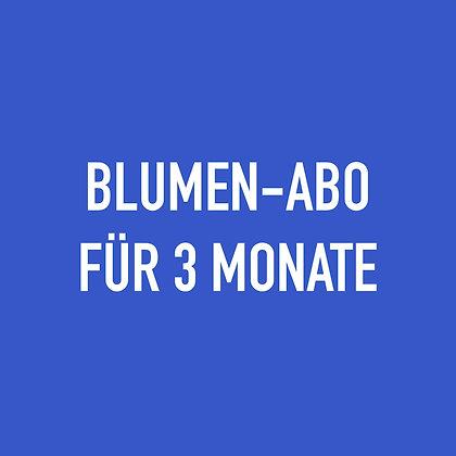 BLUMEN-ABO FÜR 3 MONATE