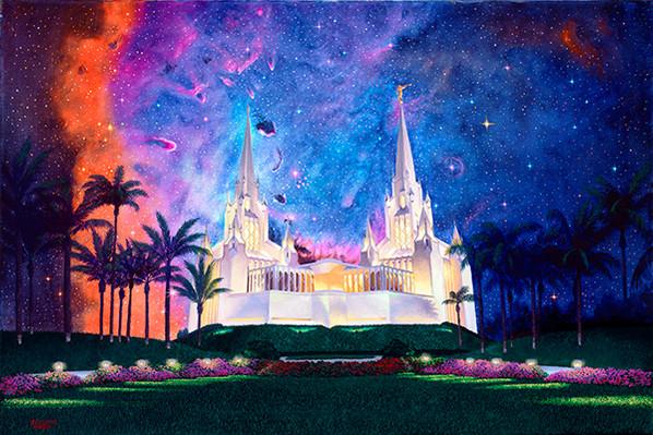 Between Heaven & Earth San Diego Temple