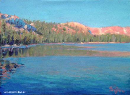 Scout Lake Uintah Mountains