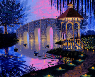 Night Gazebo