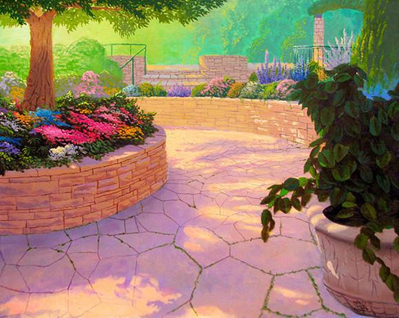 Beautiful Morning in the Garden