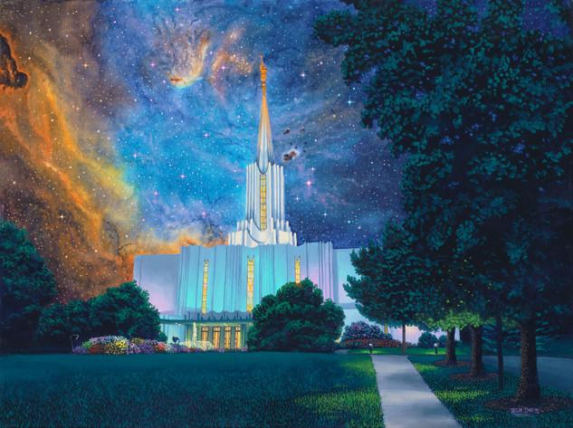 Between Heaven & Earth Jordan River Temple