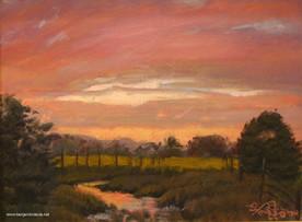 Pasture Sundown