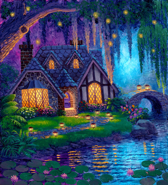 Fireflies Fantasy