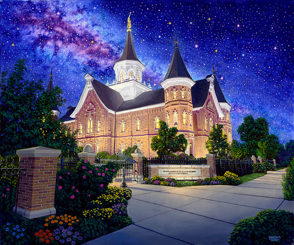 Between Heaven & Earth Provo City Temple