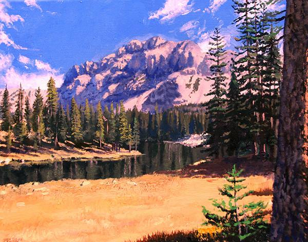 Mountain Lake Uintahs