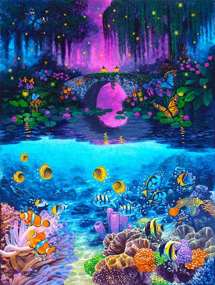 Bridge & Underwater Life