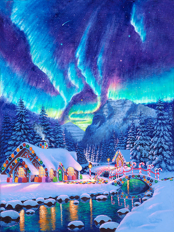 Northern Lights GingerBread