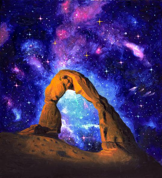 Delicate Arch Nebula