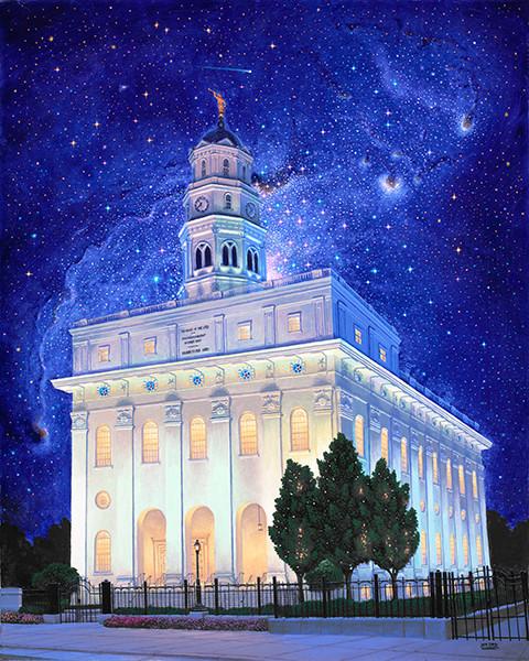 Between Heaven & Earth Nauvoo Temple