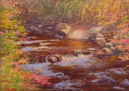 Autumn Cottonwood Creek