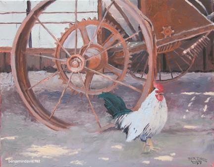 Chicken & Wheel