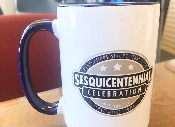 Oversized Coffee Mug - Navy