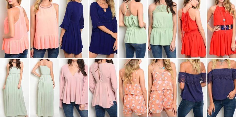 Trio Boutique Lake Mills, Iowa - Spring Clothing