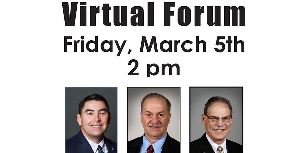 Legislative Forum - Virtual