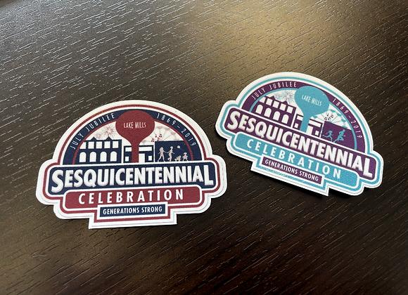 Sesquicentennial Magnet